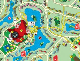 Alle Center Parcs plattegronden op een rijtje