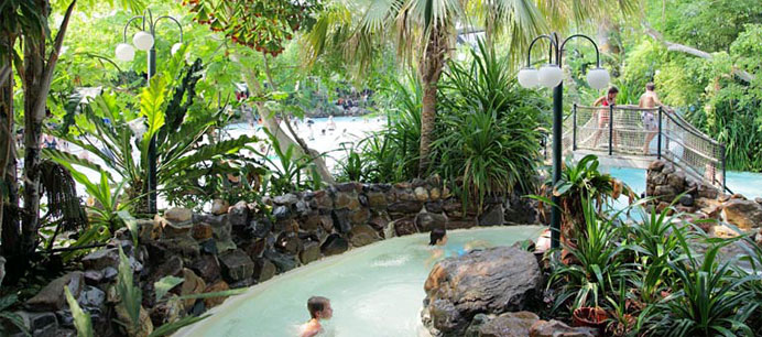 wildwaterbaan van center parcs het heijderbos