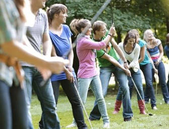 Teambuilding in Center Parcs