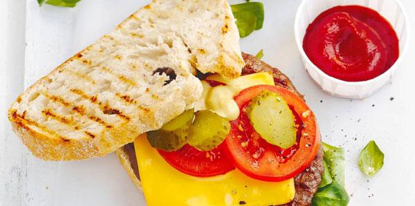 barbecue-hamburger