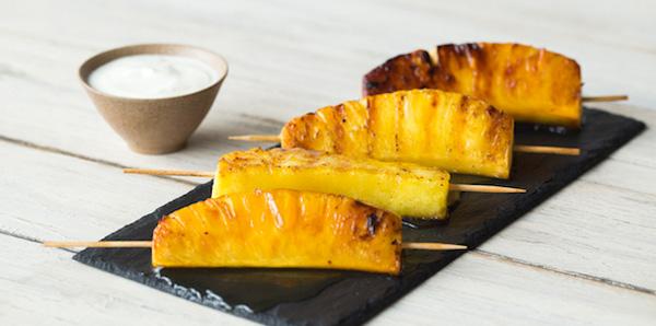 gegrilde-ananas