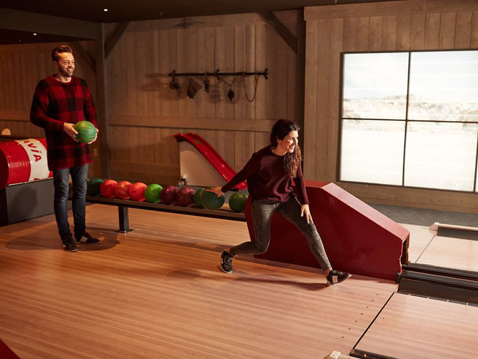 center parcs parc sandur nieuwe bowling barn