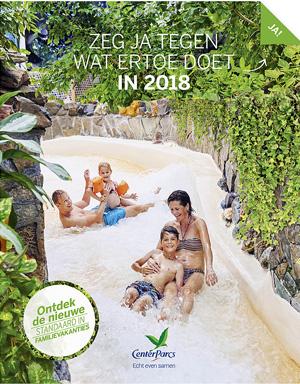 nieuwe center parcs folder brochure van 2018