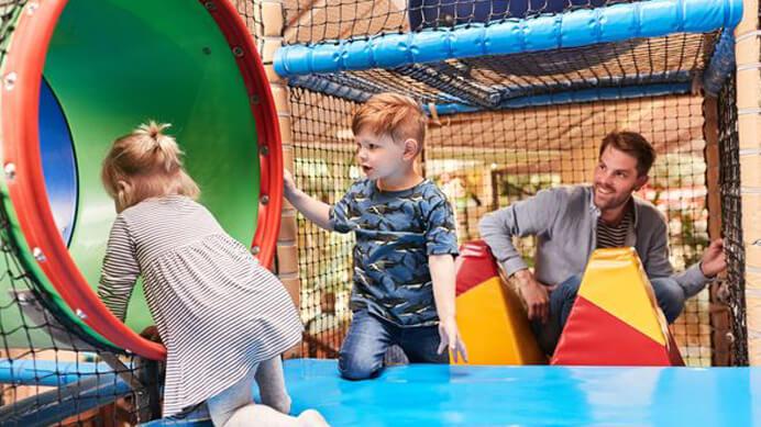 indoor speeltuin center parcs baluba